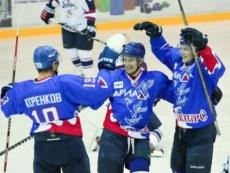 После празднования Нового года хоккеисты «Ариады-Акпарс» снова возвращаются на лед