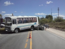 В Медведевском районе КамАЗ протаранил иномарку и автобус
