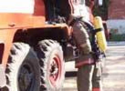 В Йошкар-Оле загорелся троллейбус с пассажирами