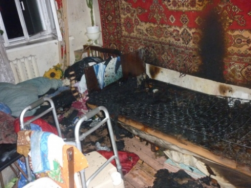В Медведево удалось вовремя локализовать пожар в многоквартирном доме
