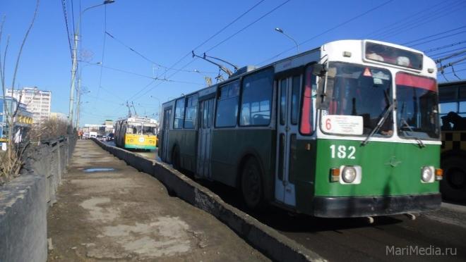 В Йошкар-Оле в пасхальную ночь общественный транспорт на линии не выйдет