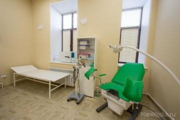 Кабинет гинекологии медицинского центра Люцины Лукьяновой.