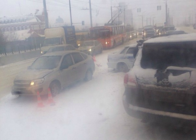 За минувшие сутки в Марий Эл произошло 42 столкновения транспортных средств