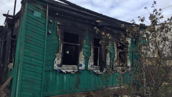 В селе Помары огнём серьезно повреждён частный жилой дом