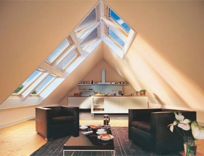 Дома и квартиры с мансардными крышами