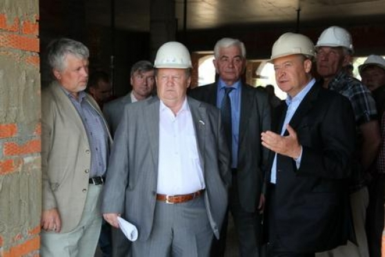 Леонид Маркелов: «Будущая библиотека — гордость Марий Эл»