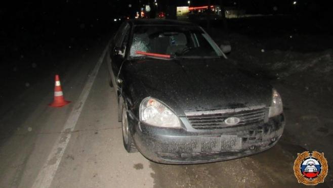 «Невидимый» пенсионер попал под колёса Lada Priora на трассе в Марий Эл
