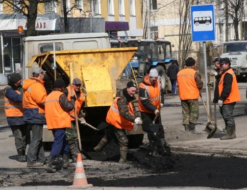 Ремонт йошкар-олинских дорог обошелся в 342 млн рублей