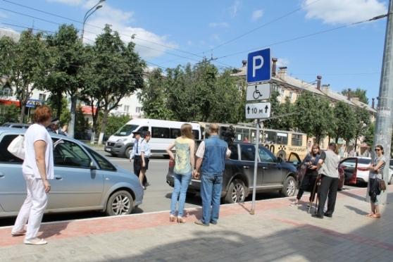 По автопарковкам для инвалидов в Йошкар-Оле возникает много вопросов