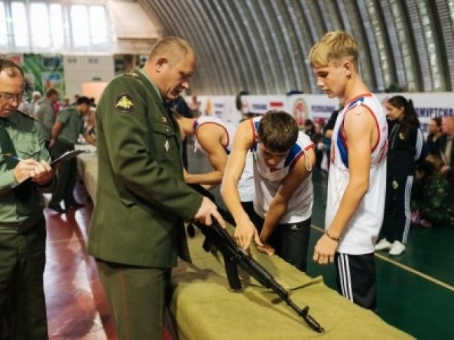В Оренбургской области завершается окружной финал «Зарницы Поволжья»