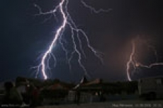 Вчерашняя гроза оставила без света 23 деревни на северо-востоке Марий Эл