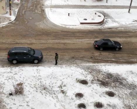 ГИБДД предупреждает йошкар-олинских водителей о смене погодных условий