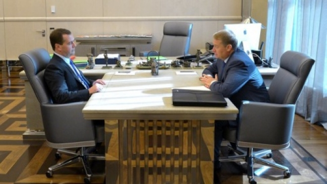Дмитрий Медведев встретился с Леонидом Маркеловым