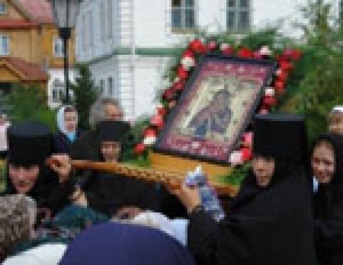 Епархиальное Управление Марий Эл озвучило график движения крестного хода с Мироносецкой иконой Божьей Матери