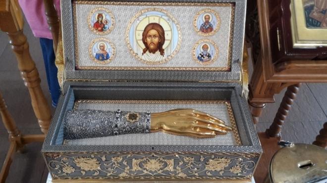 Мощи святых угодников совершают путь по Марий Эл