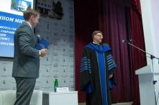 Константин Косачев обзавелся почетной мантией профессора МарГУ