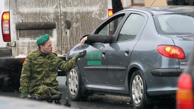 Попрошаек в военной форме будут штрафовать