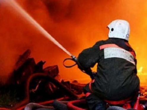 В поселке Морки на пожаре погибли бабушка с внуком