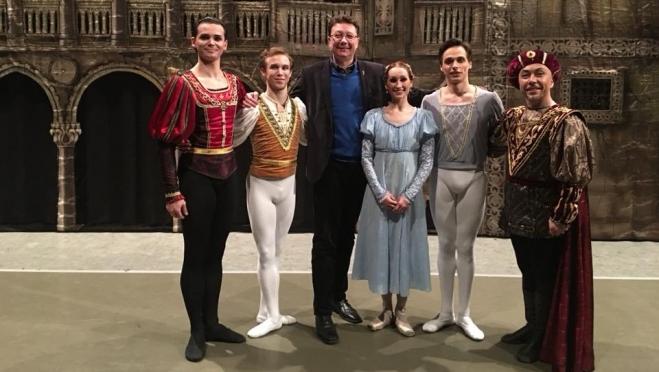 Сегодня балетная труппа из Йошкар-Олы представит в Берлине «Щелкунчик»