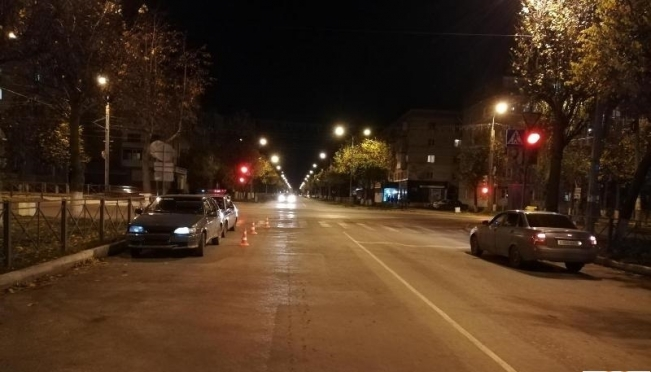 В Йошкар-Оле 18-летний водитель не пропустил на «зелёный» пешехода