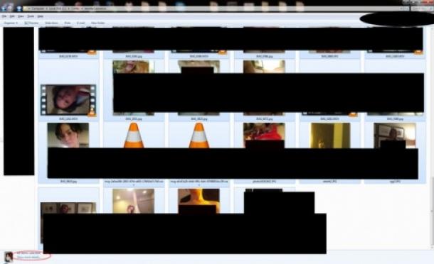 неизвестный хакер выложил в интернет фотографии