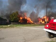 Добровольные пожарные команды активно помогают огнеборцам-профессионалам