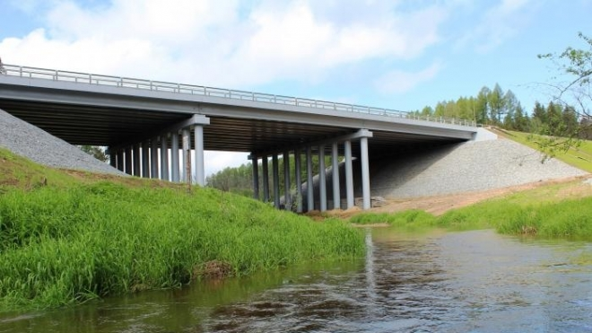 В Марий Эл через реку Толмань перекинут мост за 80 млн рублей