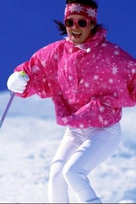 Лыжные гонки на приз Деда Мороза постер