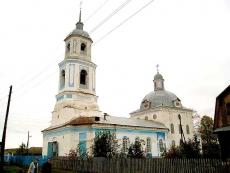 В селе Кукнур освятили главный престол храма Воздвижения Креста Господня