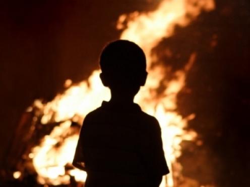 Детская шалость стала причиной пожара в Куженерском районе