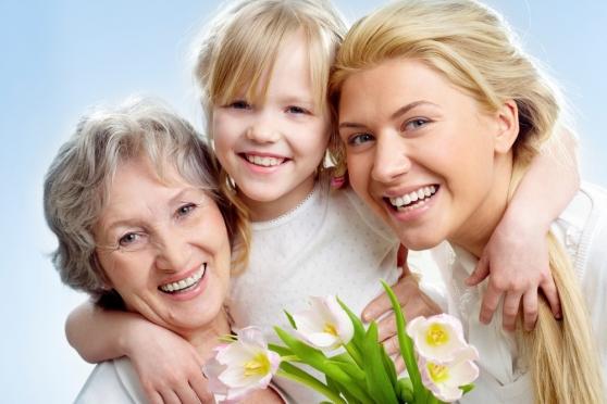 Российские мамы принимают поздравления
