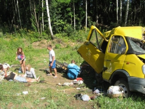 ДТП в Нижегородской области: паломники не доехали до обители