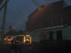 Пожар в торговом центре «Гостиный двор» потушен