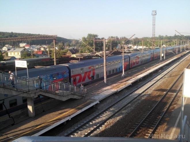 В Марий Эл возобновляется пригородное железнодорожное сообщение