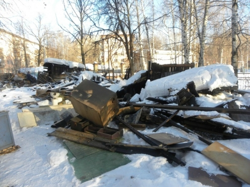 Бесхозные сарайки на улице Строителей пойдут под снос