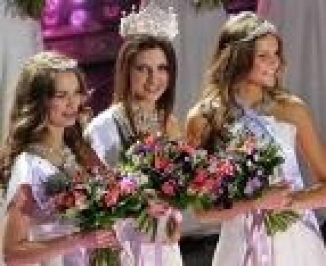 Красавицы из Марий Эл аплодировали победительнице «Мисс Россия – 2011»