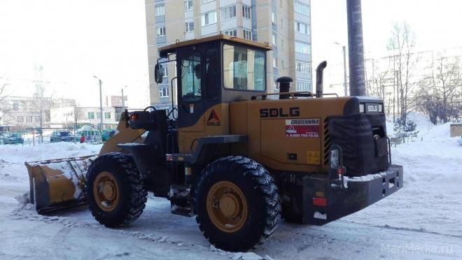 В Йошкар-Оле бульвар Победы очистят от снега