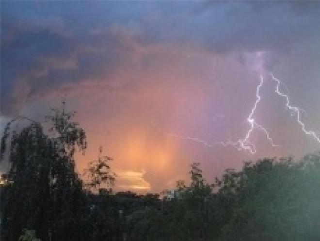 На Марий Эл могут обрушиться ливни, грозы и град