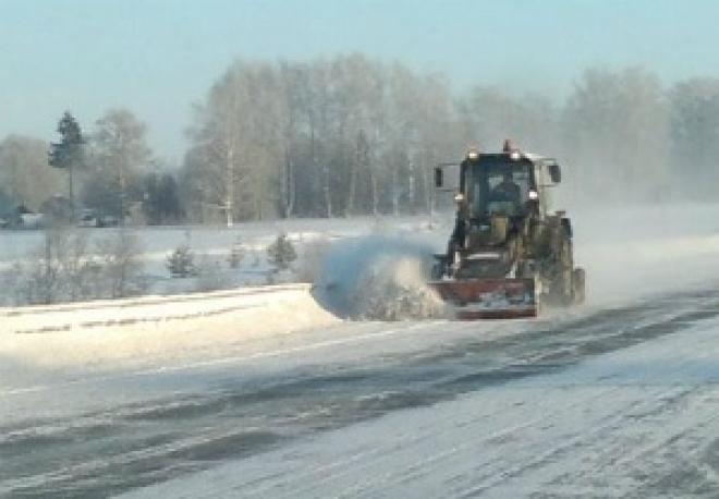 Дорожники республики уже месяц работают в зимнем режиме