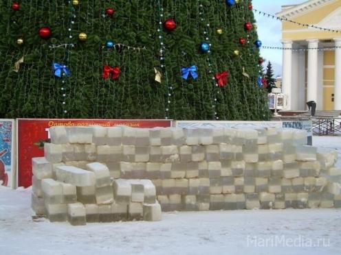 Предновогоднее перекрытие центральной площади Йошкар-Олы начнется с пятницы, 18 декабря