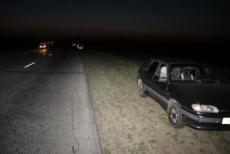 Полицейский ночью совершил ДТП
