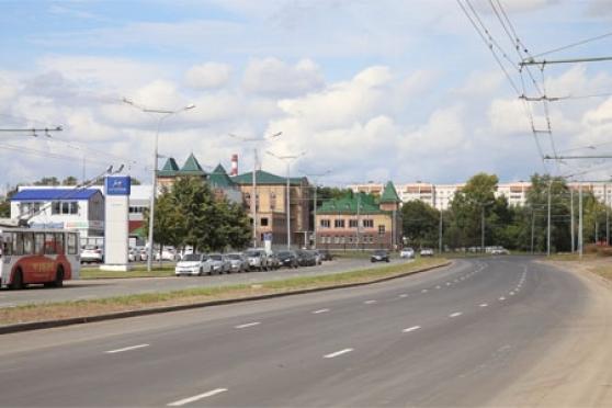 В Йошкар-Оле отремонтировали улицу К. Либкнехта протяженностью 1 200 метров