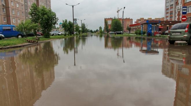 Власти Йошкар-Олы начали решать проблему с ливнёвкой на улице Анникова