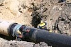 В Йошкар-Оле прорвало водопровод