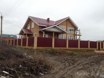 Данный дом площадью более 200 кв.м. был постороен нами 4.03.2012 в пос. Совесткий Советского района Марий Эл
