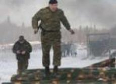 Бойцы спецназа «обкатали» огненно-штурмовую полосу препятствий (Марий Эл)