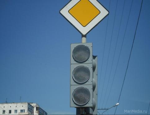 На перекрёстке Гагарина-Успенской не работает светофор