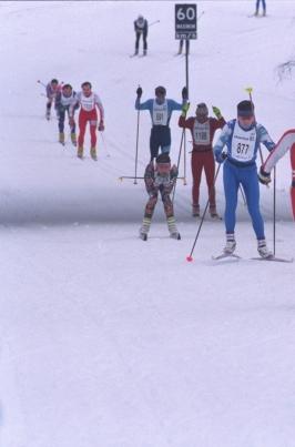 1-ый этап Кубка Республики Марий Эл по лыжным гонкам постер