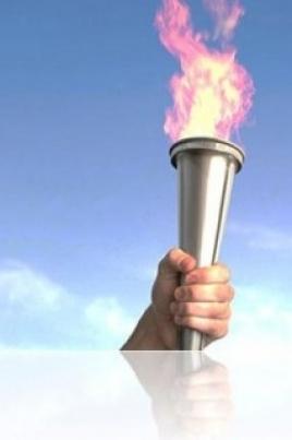 Эстафета Огня Универсиады постер