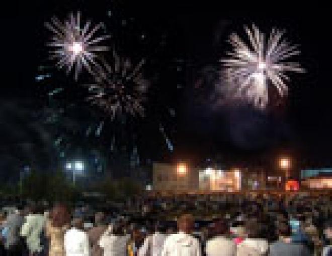 В столицу Марий Эл возвращается фейерверк в честь Дня России